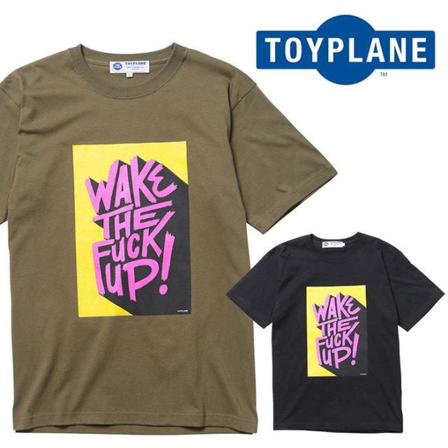 TOYPLANE(トイプレーン) S/S WAKE UP TEE 【Tシャツ】【2020 1st 先行予約】【TP20-HTE01】【キャンセル不可】