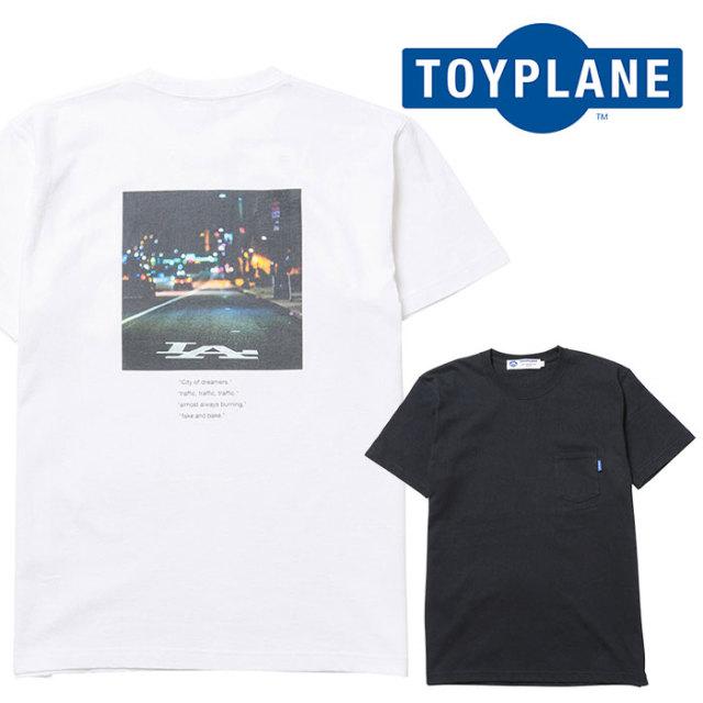 TOYPLANE(トイプレーン) S/S CITY OF DREAMER POCKET TEE 【Tシャツ】【2020 1st 先行予約】【TP20-HTE04】【キャンセル不可】
