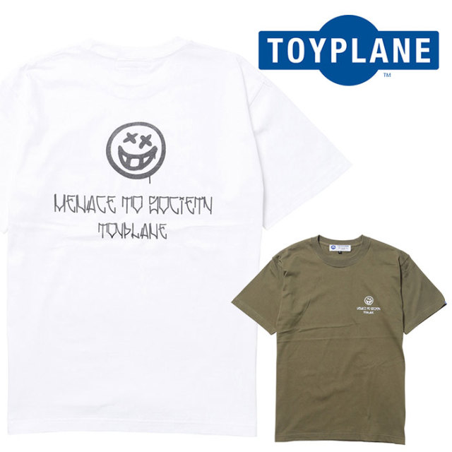 TOYPLANE(トイプレーン) S/S MENACE TEE 【Tシャツ】【2020 1st 先行予約】【TP20-HTE05】【キャンセル不可】