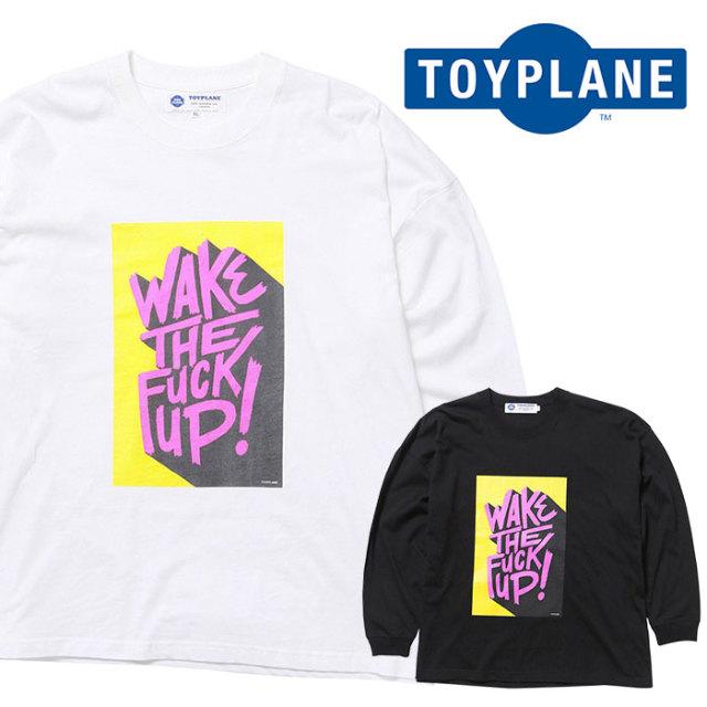 TOYPLANE(トイプレーン) L/S WAKE UP WIDE TEE 【ロングスリーブTシャツ】【2020 1st 先行予約】【TP20-HTE07】【キャンセル不可】