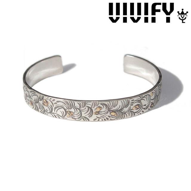 VIVIFY(ヴィヴィファイ)(ビビファイ) Arabesque FlatBangle w/gold 【VIVIFY バングル】【VFB-154】【オーダーメイド ハンドメイド