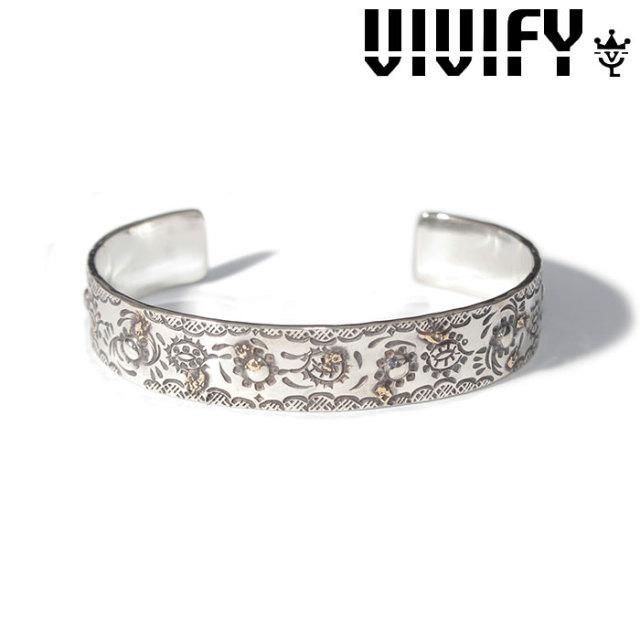 VIVIFY(ヴィヴィファイ)(ビビファイ) Paisley Bangle w/gold 【VIVIFY バングル】【VFB-156】【オーダーメイド ハンドメイド 受注