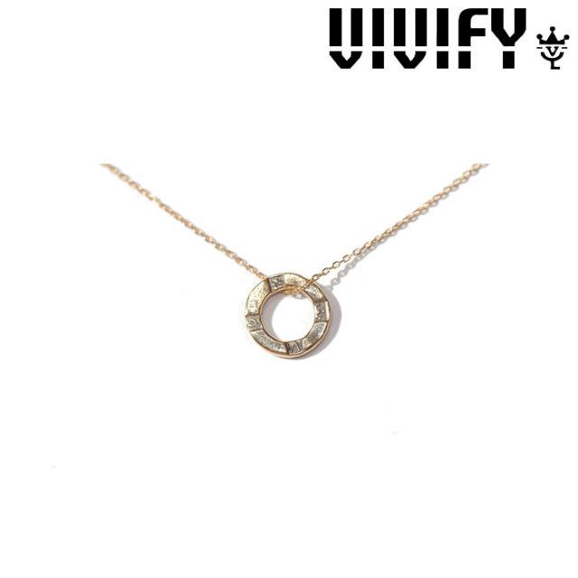 VIVIFY(ヴィヴィファイ)(ビビファイ) K18gold Hallmarks Necklace 【VIVIFY ネックレス】【VFN-266】【レディース 女性用】【オー