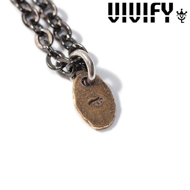 VIVIFY(ヴィヴィファイ)(ビビファイ) K18gold Rice Top(Antique finish) 【VIVIFY ネックレス】【VFN-284】【オーダーメイド ハン