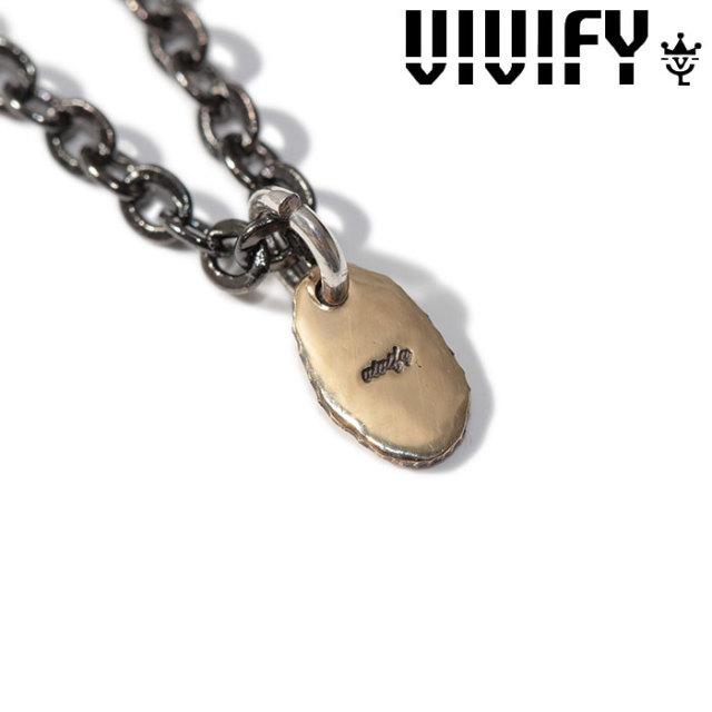 VIVIFY(ヴィヴィファイ)(ビビファイ) K18gold Rice Top(mirror finish) 【VIVIFY ネックレス】【VFN-286】【オーダーメイド ハンド