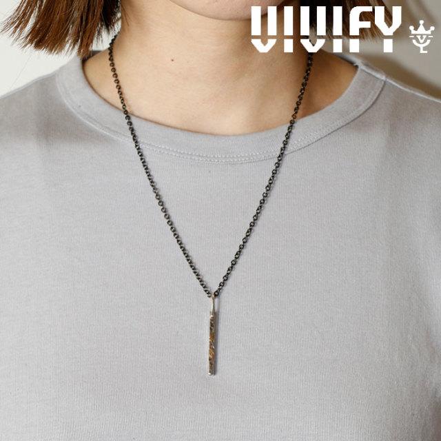 VIVIFY(ヴィヴィファイ)(ビビファイ) Gold Patch BarNecklace 【VIVIFY ネックレス】【VFN-289】【オーダーメイド ハンドメイド 受
