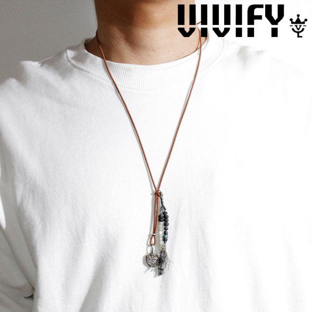 VIVIFY(ヴィヴィファイ)(ビビファイ) Eastern Roman Empire Coin w/gold Nubuck Cord Necklace 【VIVIFY ネックレス】【VFN-300】