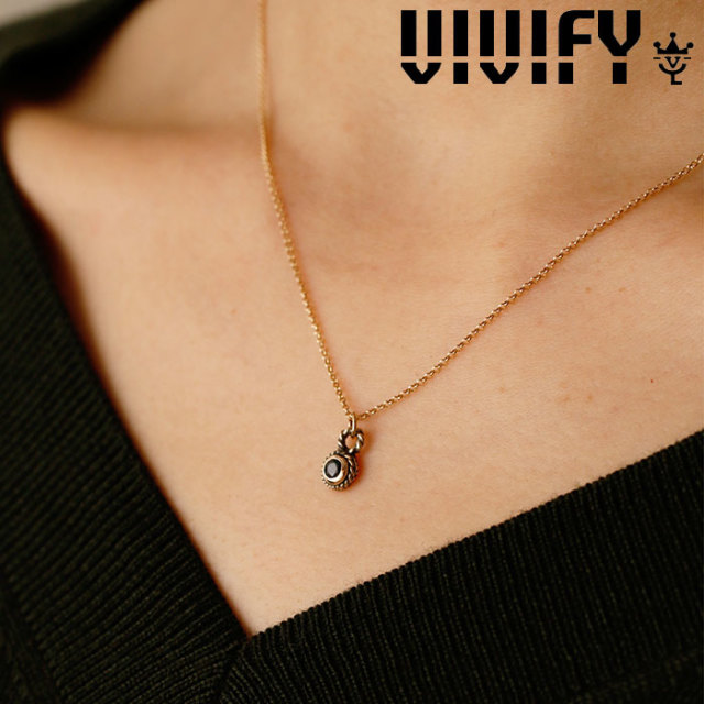 VIVIFY(ヴィヴィファイ)(ビビファイ) Small Stone Native Necklace/k10 【VIVIFY ネックレス】【 VFNL-001gcn】【レディース 女性