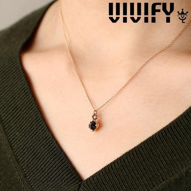 VIVIFY(ヴィヴィファイ)(ビビファイ) Spike Stone Necklace/k10 【VIVIFY ネックレス】【 VFNL-003gcn】【レディース 女性用】【オ