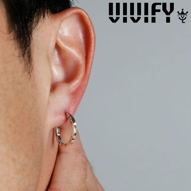 VIVIFY(ヴィヴィファイ)(ビビファイ) SquareLine Hoop Pierce w/gold 【VIVIFY ピアス】【VFP-250】【オーダーメイド ハンドメイド