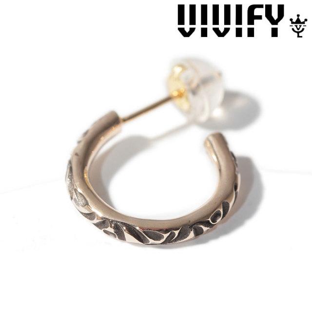 VIVIFY(ヴィヴィファイ)(ビビファイ) Onemake Arabesque Pierce k10gold(2mm body) 【オーダーメイド 受注生産】【キャンセル不可