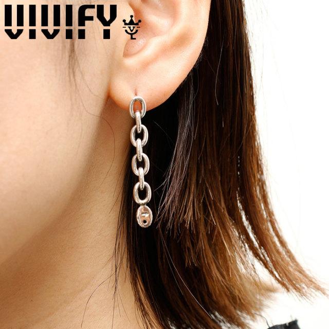 VIVIFY(ヴィヴィファイ)(ビビファイ) K18goldpost 2Way Chain Pierce 【VIVIFY ピアス】【VFP-269】【メンズ レディース】【オーダ