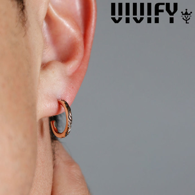 VIVIFY(ヴィヴィファイ)(ビビファイ) Onemake Arabesque Pierce k10gold(2mm body) 【VIVIFY ピアス】【VFP-257】【オーダーメイド