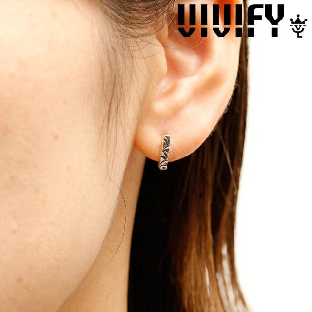 VIVIFY(ヴィヴィファイ)(ビビファイ) K18goldpost Arabesque Bar Pierce 【VIVIFY ピアス】【VFPL-002】【レディース 女性用】【オ