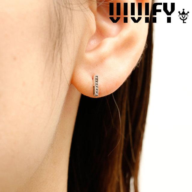 VIVIFY(ヴィヴィファイ)(ビビファイ) K18goldpost Mil Bar Pierce 【VIVIFY ピアス】【VFPL-004】【レディース 女性用】【オーダー