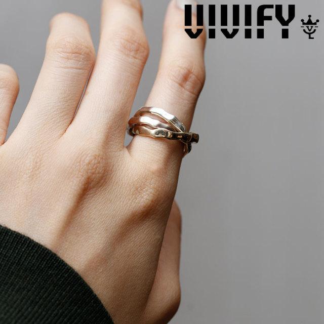 VIVIFY(ヴィヴィファイ)(ビビファイ) Crashed Concrete Triple Ring 【VIVIFY リング】【VFNL-001】【レディース 女性用】【オーダ