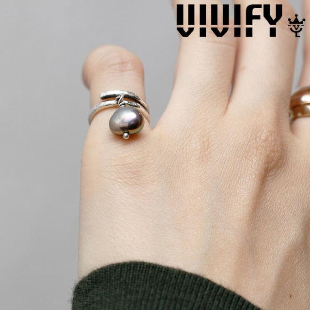 VIVIFY(ヴィヴィファイ)(ビビファイ) Baroque Pearl' s Coil Ring 【VIVIFY リング】【VFRL-002】【レディース 女性用】【オーダー