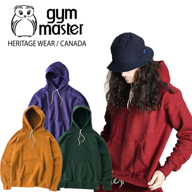 gym master(ジムマスター)(CANADA) Sweat raglan pull over hooded 【パーカー フーディー】【made in CANADA】【即発送可能】