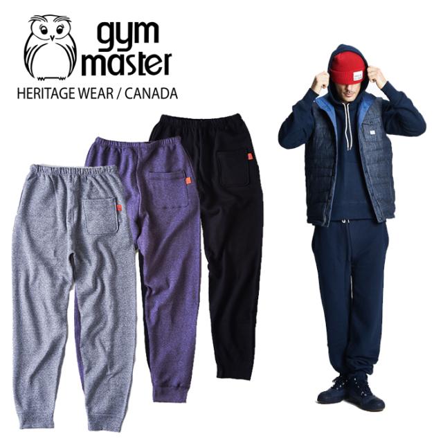 【SALE30%OFF】 gym master(ジムマスター)(CANADA) Sweat Pants 【セール スウェットパンツ】【made in CANADA】【即発送可能】