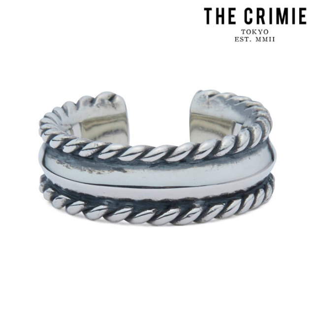 "CRIMIE(クライミー) PYRAMID ROPE STUDS RING 【""THE"" SERIES COLLECTION 先行予約】【定番商品】【キャンセル不可】【CRA1-JW92-P"