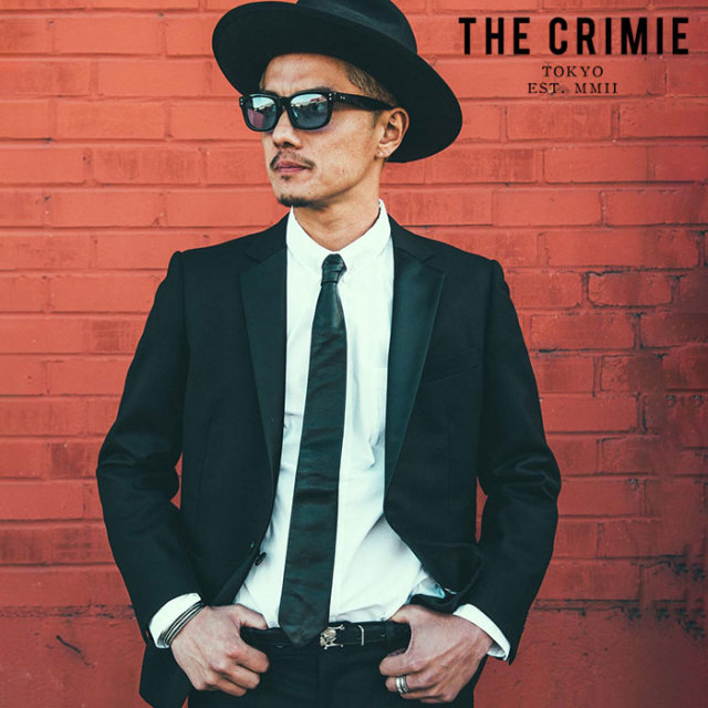 "CRIMIE(クライミー) TAILORED TUXEDO SUIT 【""THE"" SERIES COLLECTION 先行予約】【定番商品】【キャンセル不可】【CRA1-ST01-TX01"