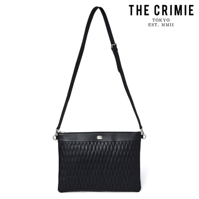 "CRIMIE(クライミー) DIAMOND QUILT 2WAY CLUTCH BAG BIG 【""THE"" SERIES COLLECTION 先行予約】【定番商品】【キャンセル不可】【C"