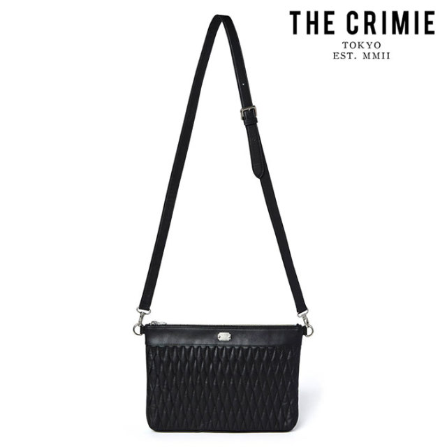 "CRIMIE(クライミー) DIAMOND QUILT 2WAY CLUTCH BAG MIDDLE 【""THE"" SERIES COLLECTION 先行予約】【定番商品】【キャンセル不可】"