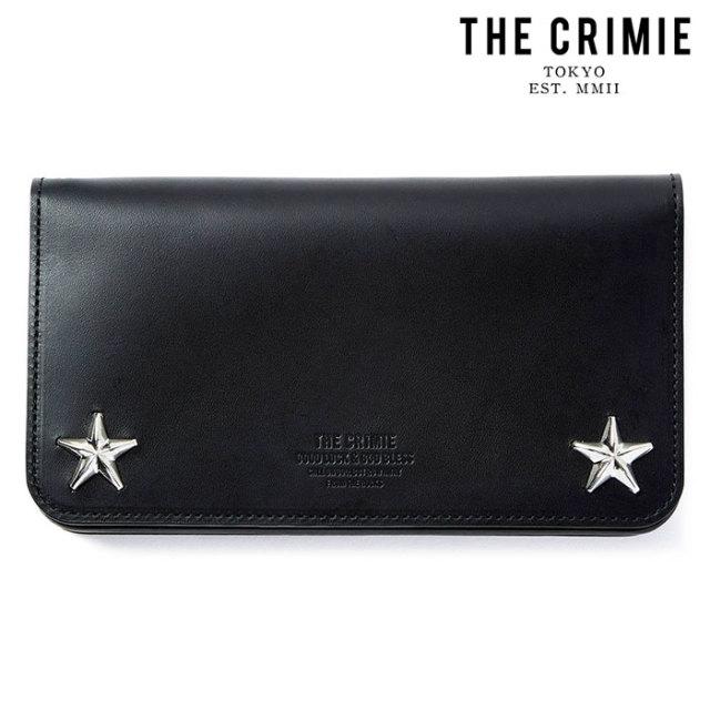 "CRIMIE(クライミー) STAR STUDS BIKER WALLET 【""THE"" SERIES COLLECTION 先行予約】【定番商品】【キャンセル不可】【CRA1-WBA1-W"