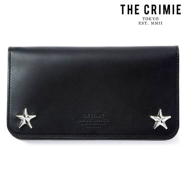 "CRIMIE(クライミー) STAR STUDS BIKER WALLET 【""THE"" SERIES COLLECTION 先行予約】【定番商品】【キャンセル不可】【CRA1-WBA1-W"