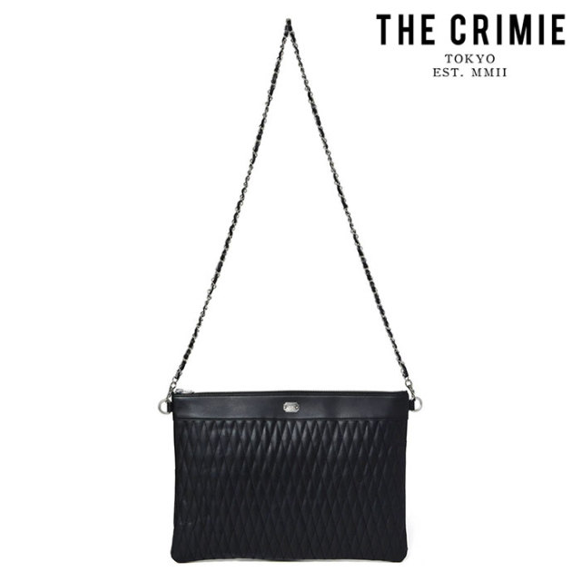 "CRIMIE(クライミー) DIAMOND QUILT 2WAY CLUTCH BAG BIG(WOMEN) 【""THE"" SERIES COLLECTION 先行予約】【定番商品】【キャンセル不"