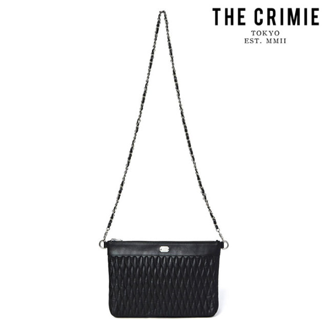 "【SALE15%OFF】 CRIMIE(クライミー) DIAMOND QUILT 2WAY CLUTCH BAG MIDDLE(WOMEN) 【""THE"" SERIES COLLECTION】【定番商品】【キ"