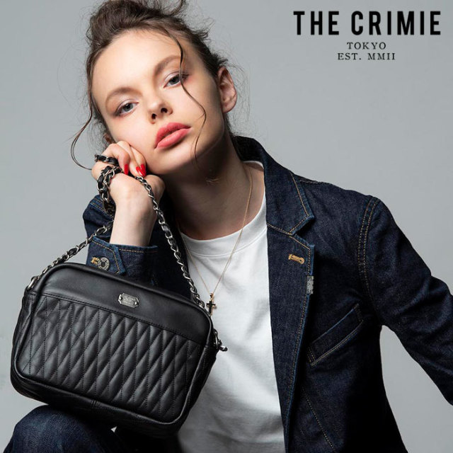 "【SALE15%OFF】 CRIMIE(クライミー) DIAMOND QUILT SHOULDER BAG(WOMEN) 【""THE"" SERIES COLLECTION】【定番商品】【キャンセル不"