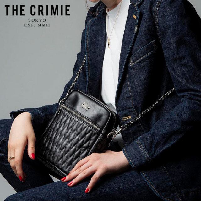 "CRIMIE(クライミー) DIAMOND QUILT SHOULDER BAG 2(WOMEN) 【""THE"" SERIES COLLECTION 先行予約】【定番商品】【キャンセル不可】"