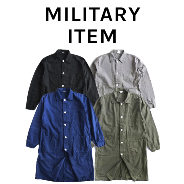 OUTPUT MilitaryApparel Czech Type Work Coat 【ミリタリー コート】【キャンセル 返品 交換不可】