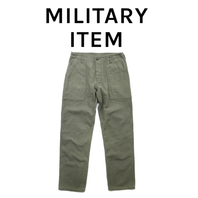 OUTPUT MilitaryApparel Fatige Pants 【ミリタリー パンツ】【キャンセル 返品 交換不可】