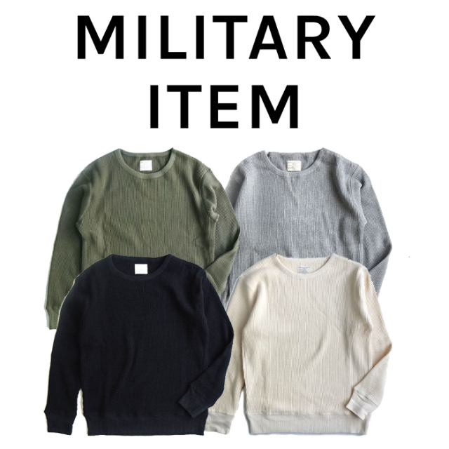 OUTPUT MilitaryApparel Cold weather  Extra Heavy Weight Thermal 【ミリタリー サーマル】【キャンセル 返品 交換不可】