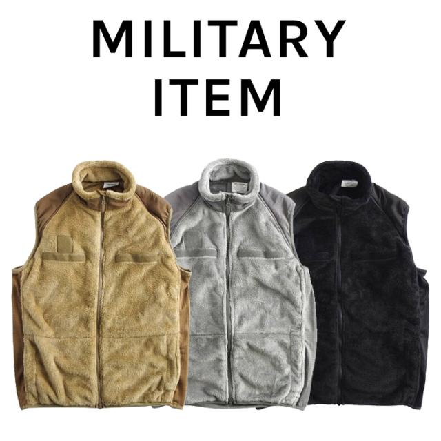 OUTPUT MilitaryApparel US Type ECWCS Gen3 Fleece Vest 【ミリタリー ベスト フリース】【キャンセル 返品 交換不可】