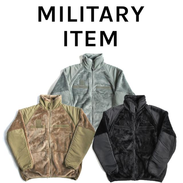 OUTPUT MilitaryApparel US Type ECWCS Gen3 Fleece Jacket 【ミリタリー ジャケット フリース】【キャンセル 返品 交換不可】