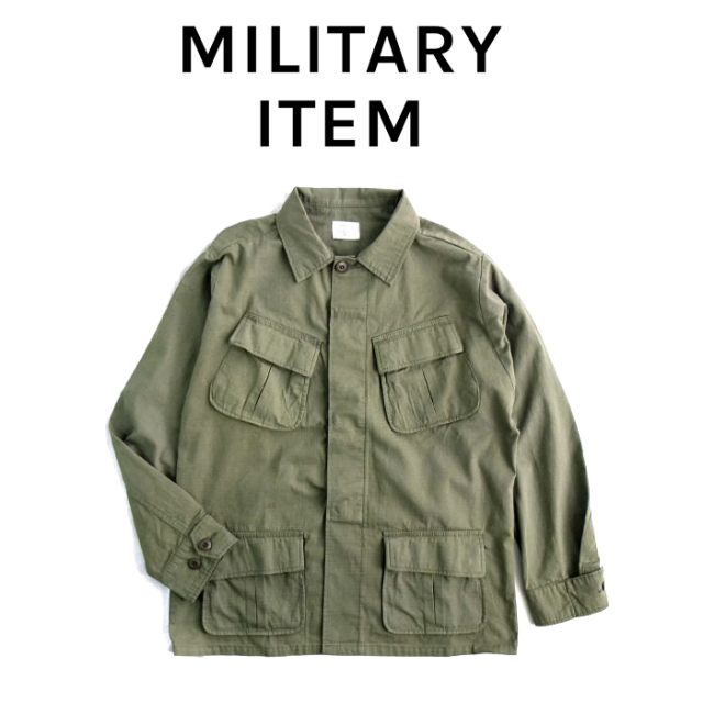 OUTPUT MilitaryApparel Jungle fatigue jacket 【ミリタリー ジャケット】【キャンセル 返品 交換不可】