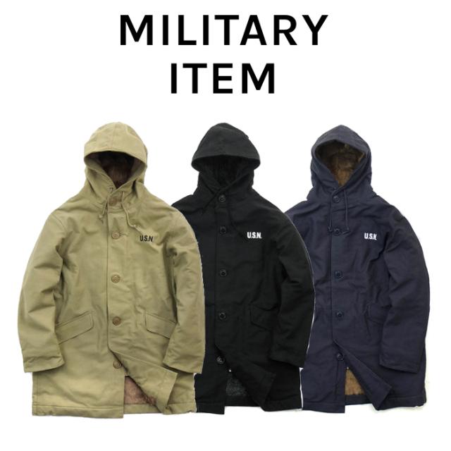 OUTPUT MilitaryApparel US Type N-2 DECK COAT 【ミリタリー コート】【キャンセル 返品 交換不可】
