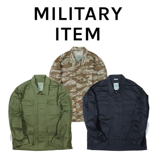 OUTPUT MilitaryApparel US Type B.D.U.Jacket 【ミリタリー ジャケット】【キャンセル 返品 交換不可】