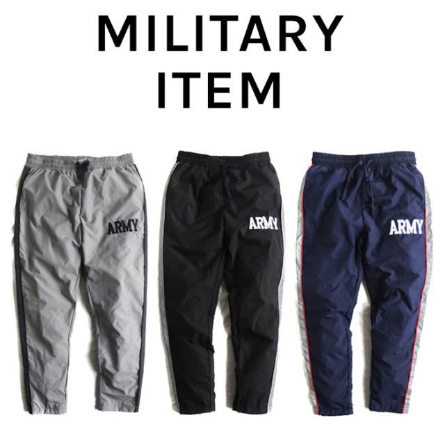 OUTPUT MilitaryApparel US ARMY TYPE IPFU PANTS 【ミリタリー ナイロンパンツ】【キャンセル 返品 交換不可】
