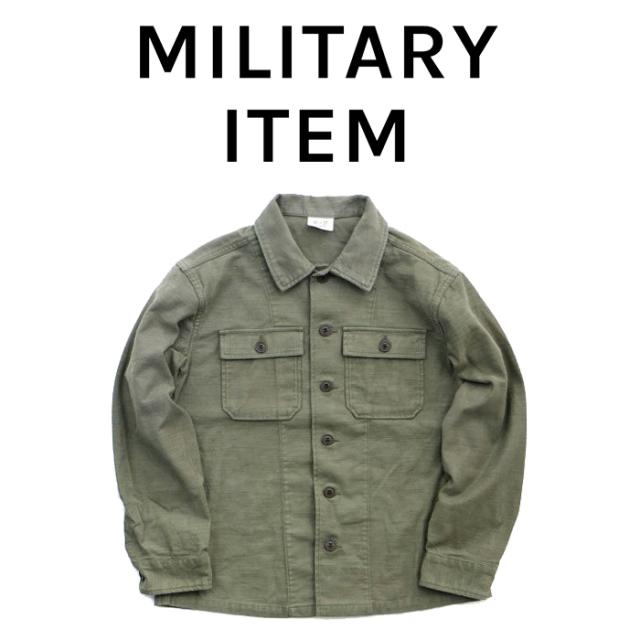 OUTPUT MilitaryApparel Fatige Shirts 【ミリタリー シャツ 長袖】【キャンセル 返品 交換不可】