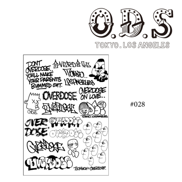 OVER DOSE(過剰摂取) FLASH #028 【即発送可能】 【OVER DOSE(過剰摂取)】 【#028】