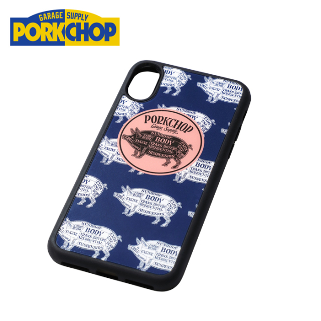 PORKCHOP GARAGE SUPPLY(ポークチョップ ガレージサプライ) i Phone CASE Type-A 【i-Phoneケース】【6 6S 7 8 X XS XR】