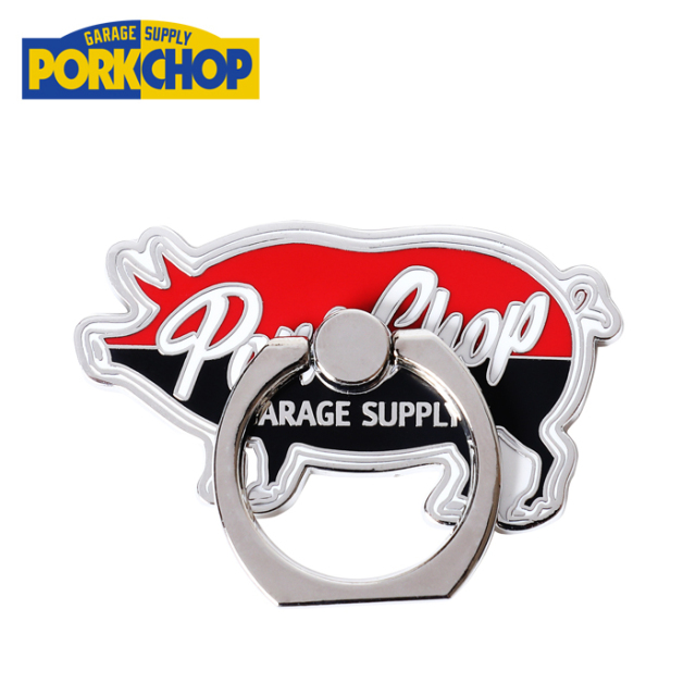 PORKCHOP GARAGE SUPPLY (ポークチョップ ガレージサプライ)  P RING(PORK) 【スマートフォン用ホールドリング】【バンカーリング