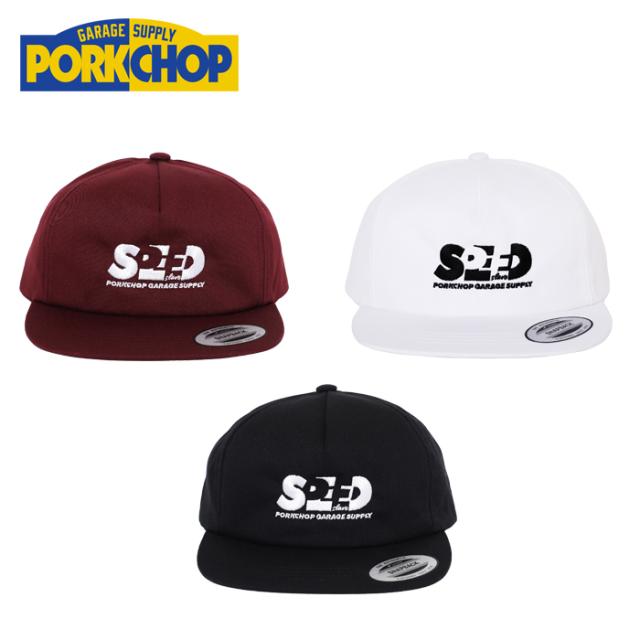 PORKCHOP GARAGE SUPPLY(ポークチョップ ガレージサプライ) SPEED SLAVE CAP 【トラッカーキャップ】【帽子】