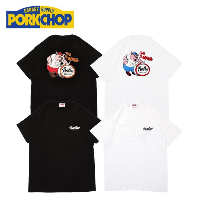 PORKCHOP GARAGE SUPPLY(ポークチョップ ガレージサプライ) THIS IS ORIGINAL TEE 【プリント Tシャツ】