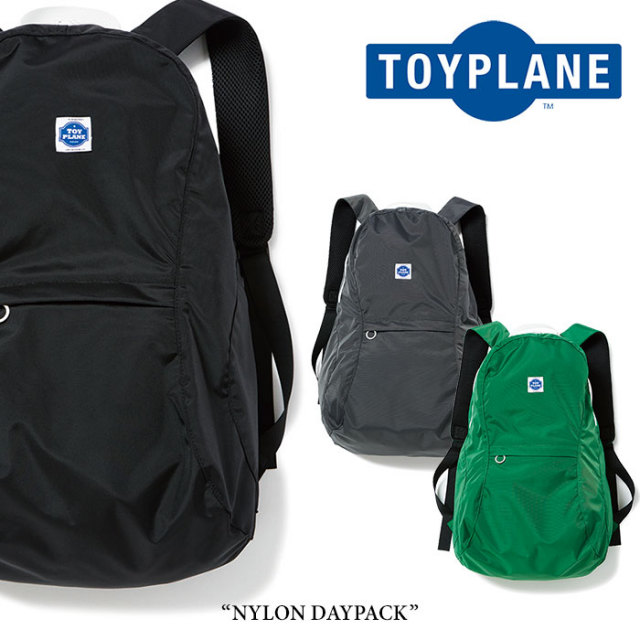 TOYPLANE(トイプレーン) NYLON DAYPACK 【2018SUMMER/FALL新作】 【TP18-NAC02】