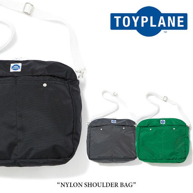 TOYPLANE(トイプレーン) NYLON SHOULDER BAG 【2018SUMMER/FALL先行予約】 【キャンセル不可】 【TP18-NAC01】
